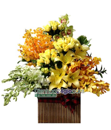 Kết quả hình ảnh cho cắm hoa chúc mừng sinh nhật điện hoa 24 giờ