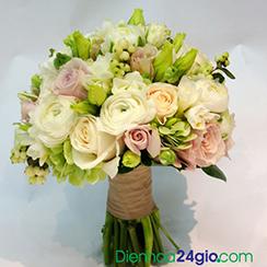 Kết quả hình ảnh cho hoa cưới điện hoa 24 giờ