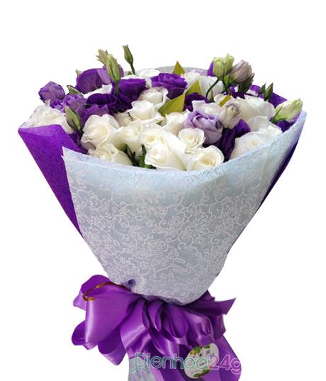 af9a2baee0 Hoa hồng bạch - Điện hoa 24h
