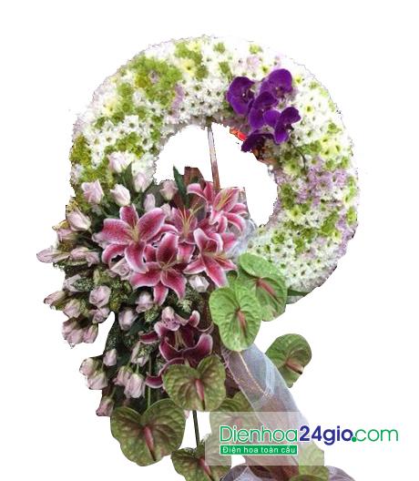 """Kết quả hình ảnh cho hoa chia buồn điện hoa 24 giờ"""""""