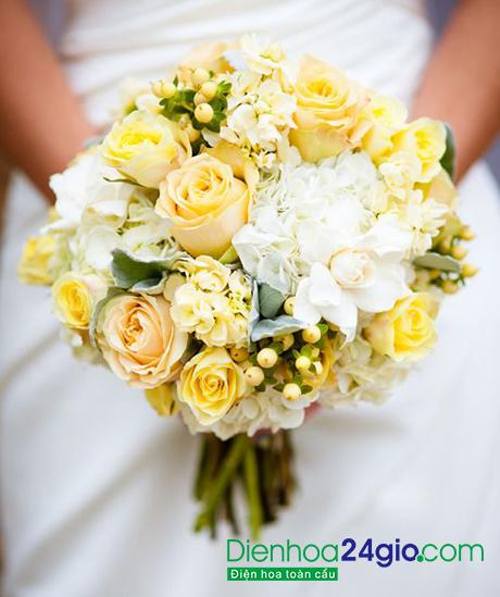 Kết quả hình ảnh cho bó hoa cưới tinh tế