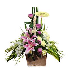 Giỏ hoa giá rẻ