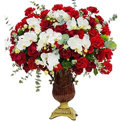Bình hoa tươi G638