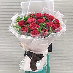 Bó hoa hồng đỏ tặng sinh nhật