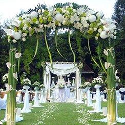 Cổng hoa cưới HN4