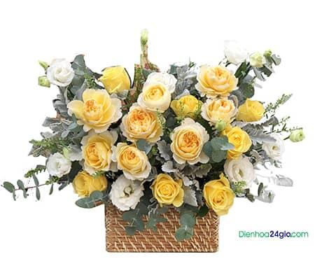 Giỏ hoa G602