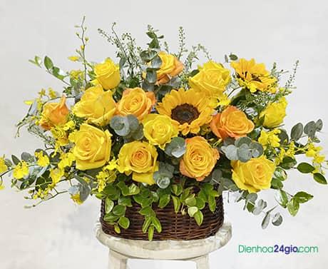 Giỏ hoa G603