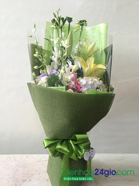 Hoa tặng đại biểu, Bó hoa giá rẻ