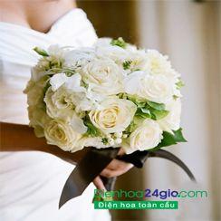 Hoa cưới, hoa cô dâu HC-43