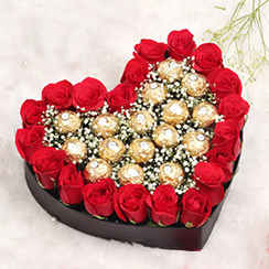 Hoa tặng valentine G618