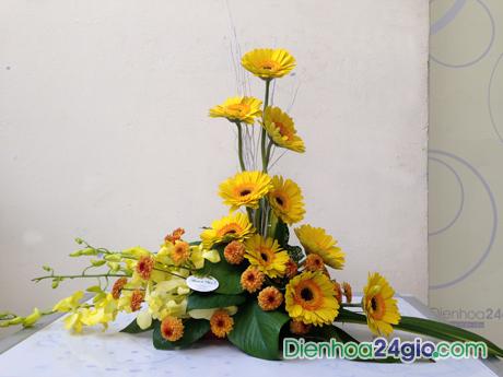 Hoa để bàn đẹp 3
