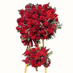 Hoa khai trương màu đỏ