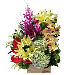 Lẵng hoa sinh nhật đẹp G413