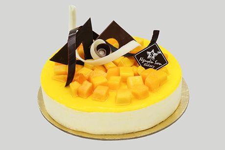 Bánh kem Mango cheese cake