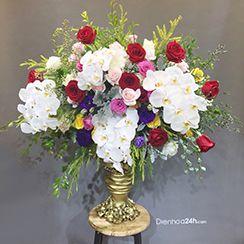 Bình hoa tươi đẹp
