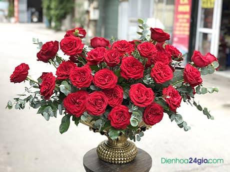 Bình hoa sinh nhật G636
