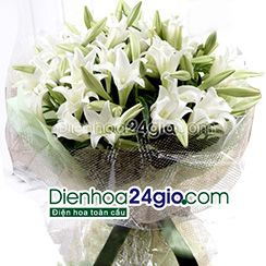 Bó hoa loa kèn HB75