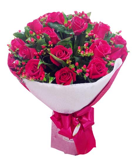 Bó hồng tình yêu 1