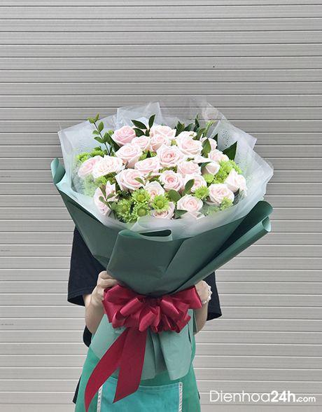 Kết quả hình ảnh cho bó hoa điện hoa 24h
