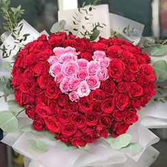 Bó hoa hồng đỏ HB35