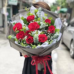 Bó hoa sinh nhật HB588