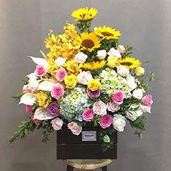 Giỏ hoa tươi G554