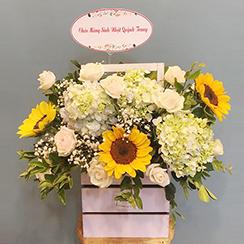 Giỏ hoa tươi - G140