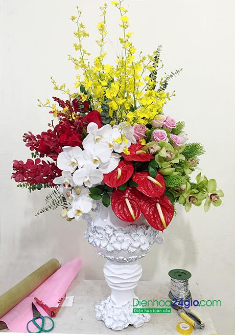 Bình hoa tặng sếp, tặng đối tác