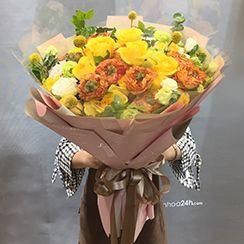 Bó hoa hồng đẹp HB490