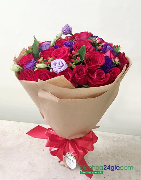 Hoa sinh nhật đẹp HB352