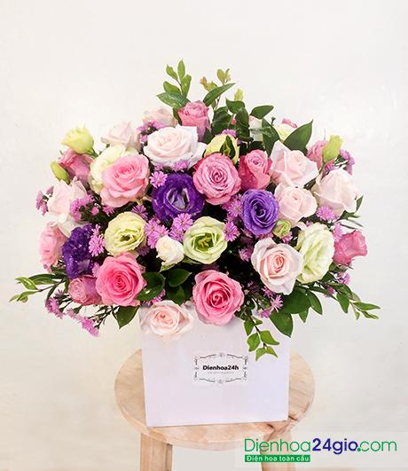Hoa tươi đẹp G436