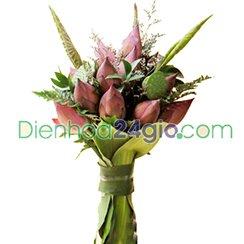 Bó hoa sen HB52