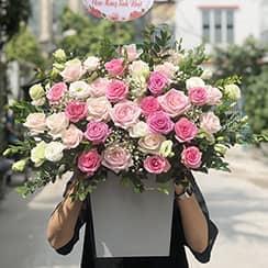 Giỏ hoa sinh nhật G592