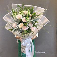 Bó hoa hồng HB481