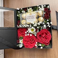 Hoa và chocolate G605