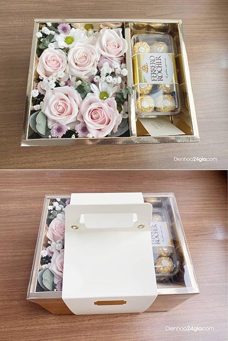 Hoa và chocolate G606