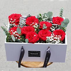 Hộp hoa hồng đỏ COMPO-9