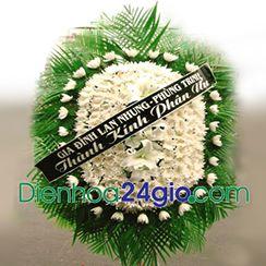 Vòng hoa chia buồn 9