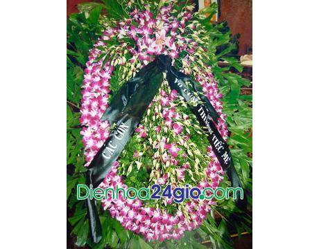 Vòng hoa chia buồn VH02