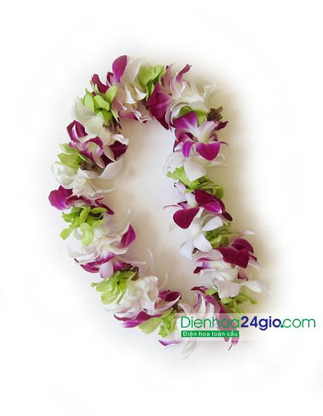Vòng hoa đeo cổ 10