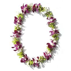 Vòng hoa đeo cổ 01