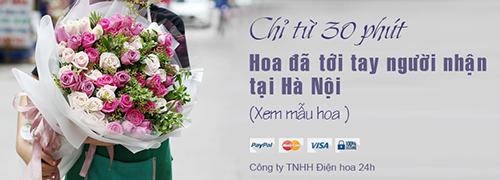 0f6f78f727 Các sản phẩm hoa tươi giao nhanh trong 30 phút chủ yếu là các sản phẩm hoa  sinh nhật