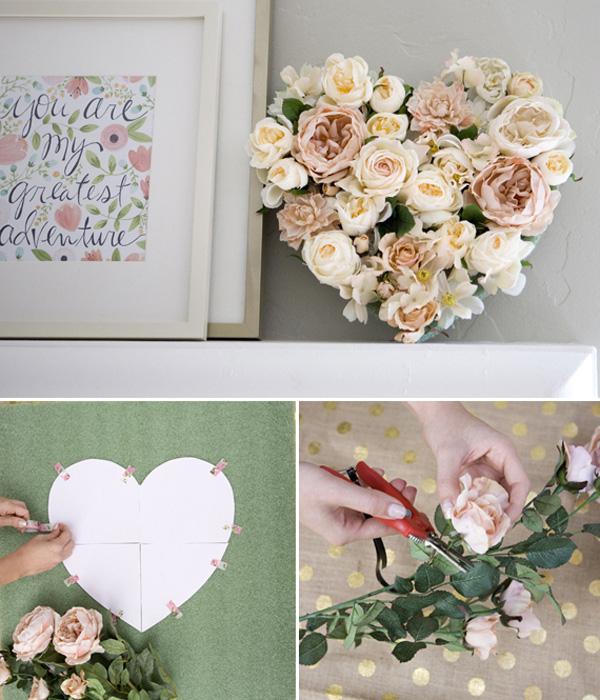 Gợi ý 4 cách cắm hoa hình trái tim cho ngày cuối tuần thêm yêu đời